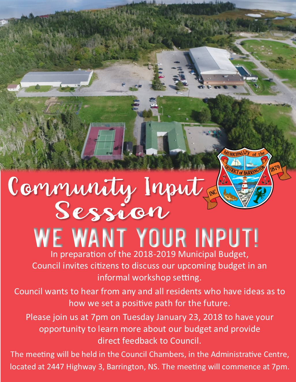 Community Input Session Jan 2018 2