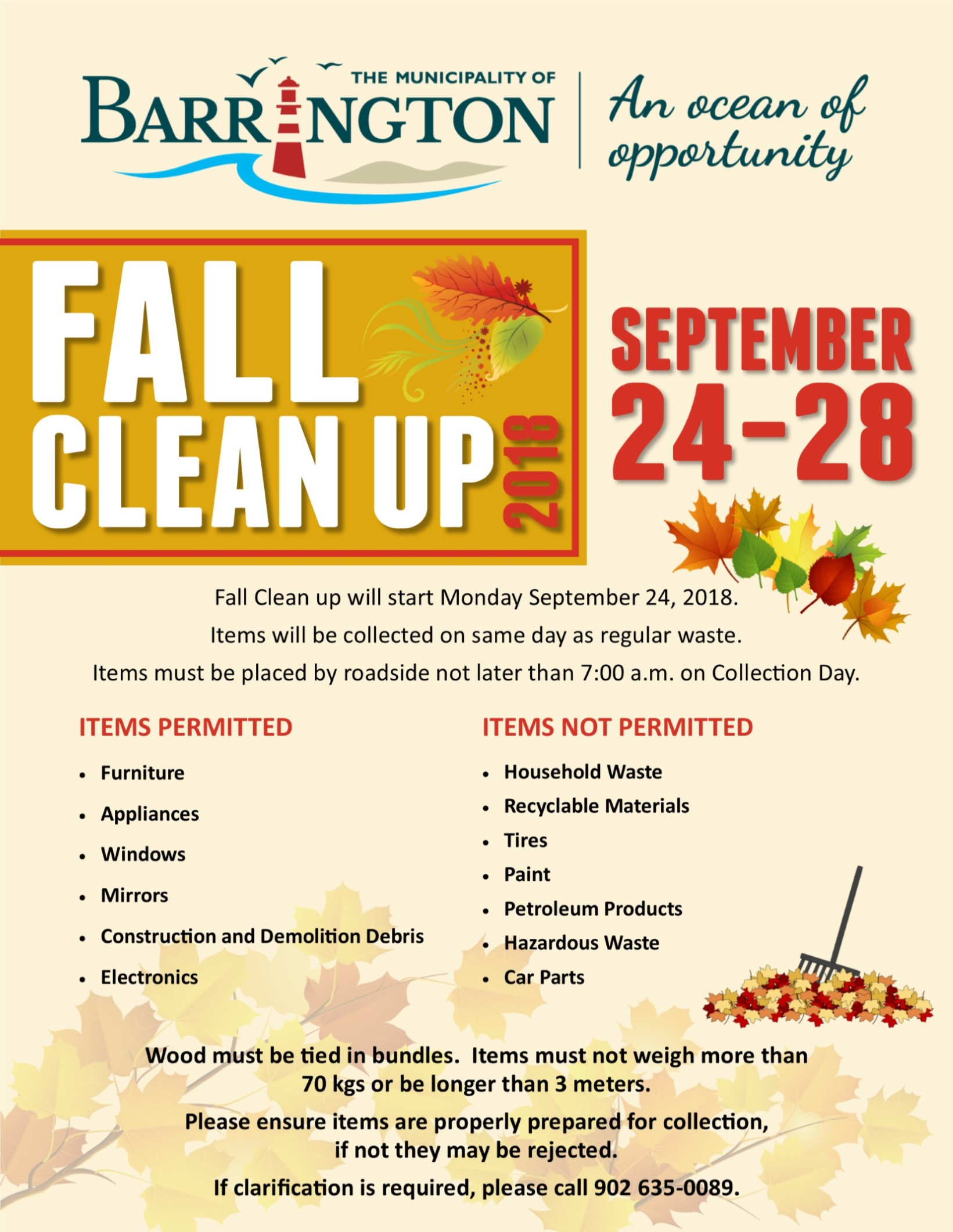 Fall Clean Up 2018