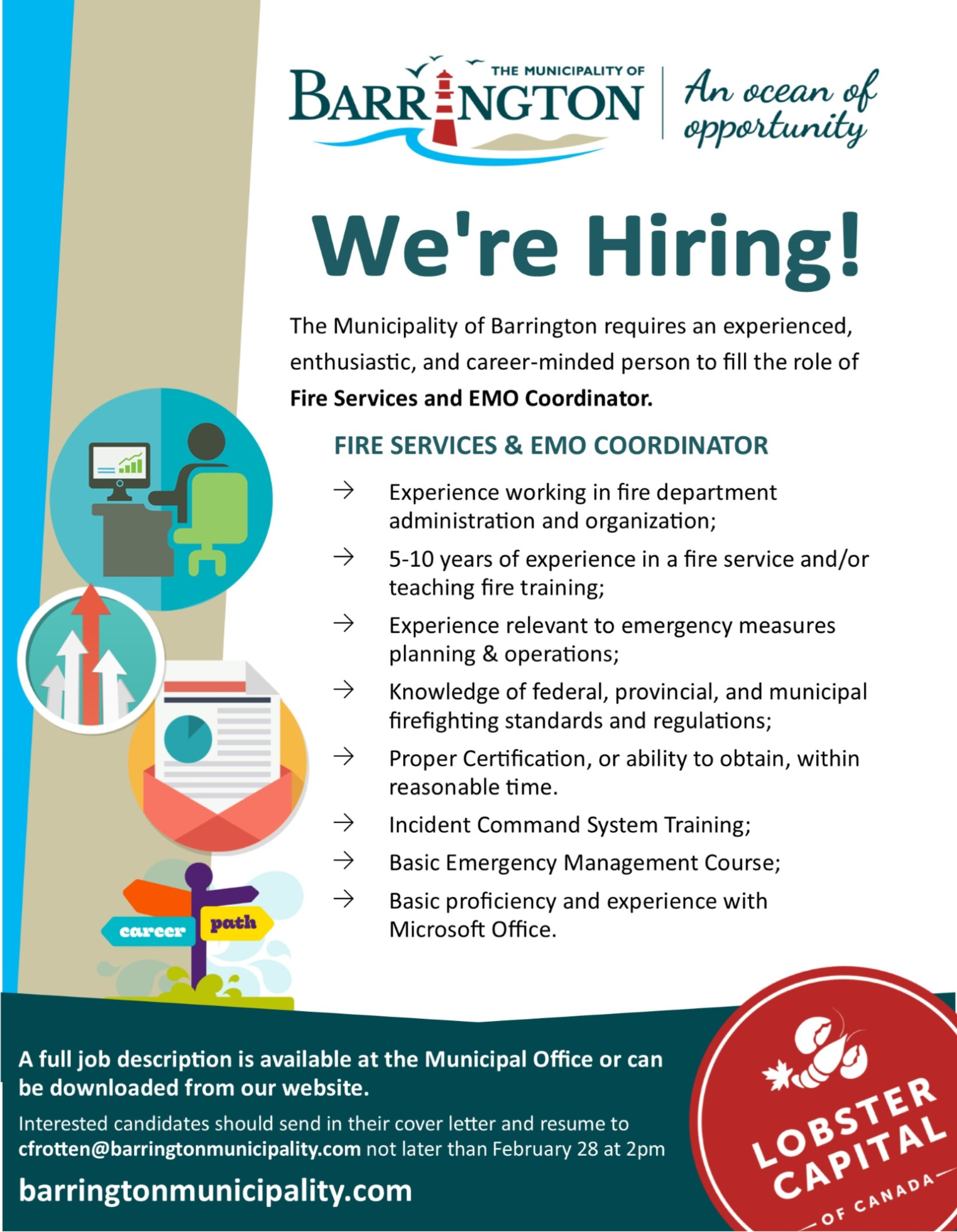 Job Opportunity - Fire Services & EMO Coordinator