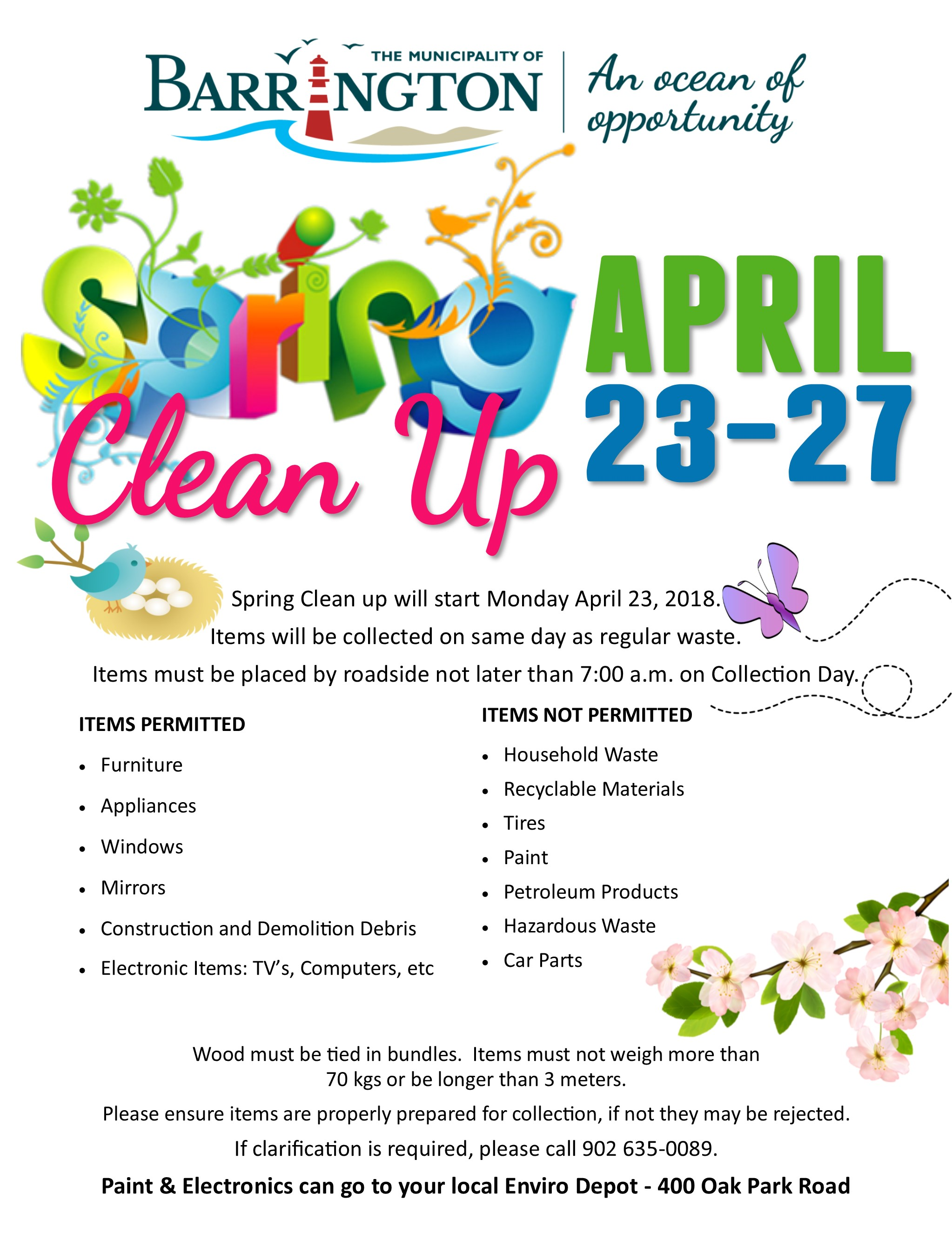 Spring Clean Up 2018