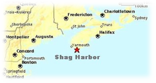 shag harbor map